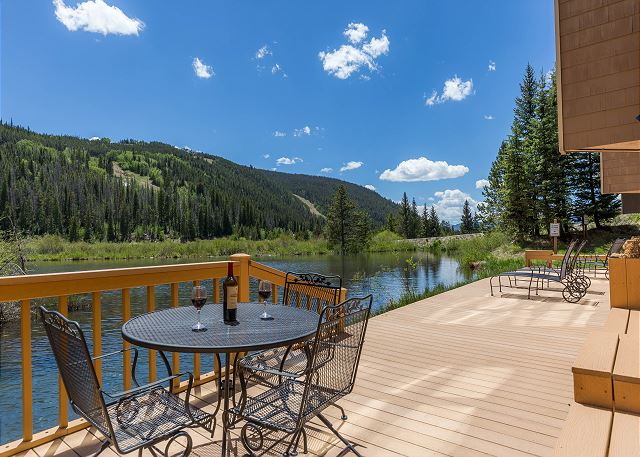 Shared Deck with Beautiful Views