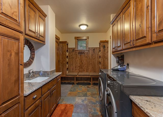 Mud Room and Private Laundry