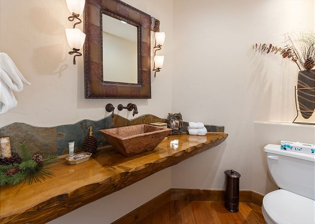 Half Bathroom for Main Living Area