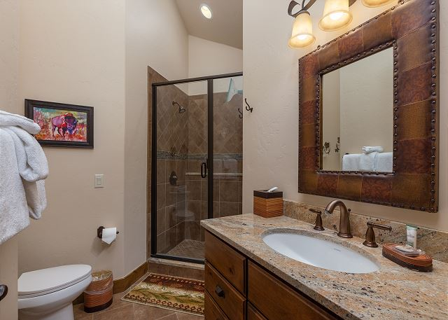 Guest Bathroom on Second Level