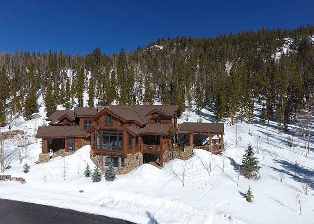 Beautiful stand-alone mountain home in Keystone, Colorado.