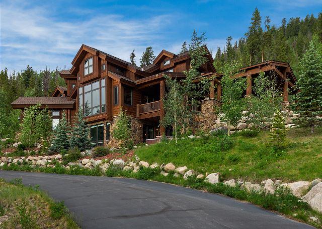 A beautiful stand-alone home in Keystone, Colorado.