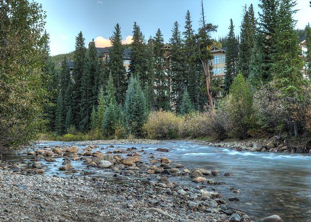 Nearby Snake River in Keystone, Colorado