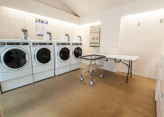 Shared Laundry Facilities