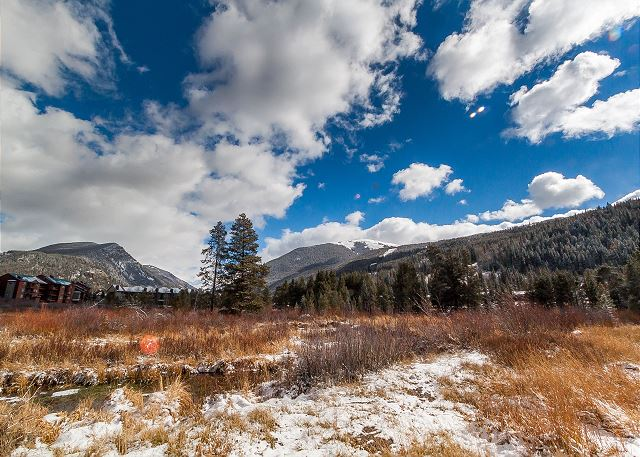 View from Snowdance Manor in Keystone, Colorado
