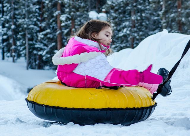 Enjoy tubing with family and friends!