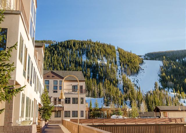 Slopeside Condominiums in Keystone, Colorado