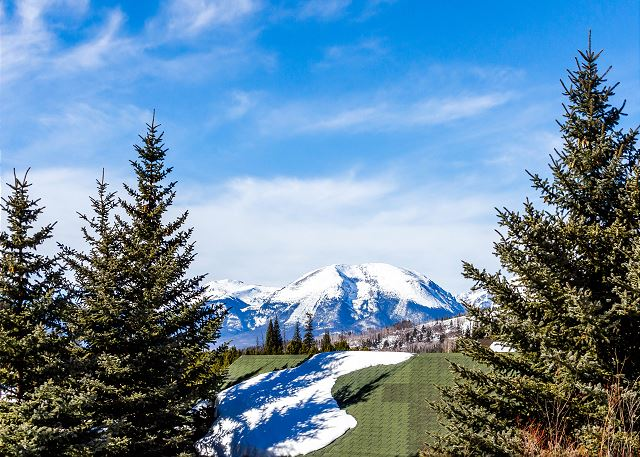 View from Slopeside Condominiums in Keystone, Colorado