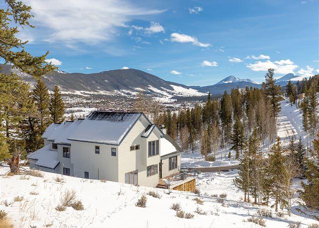 Beautiful mountain home in Dillon, Colorado.