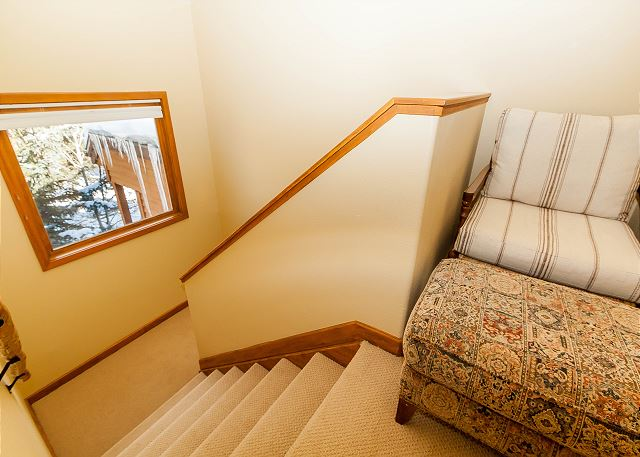 Stairway to Second Master Bedroom