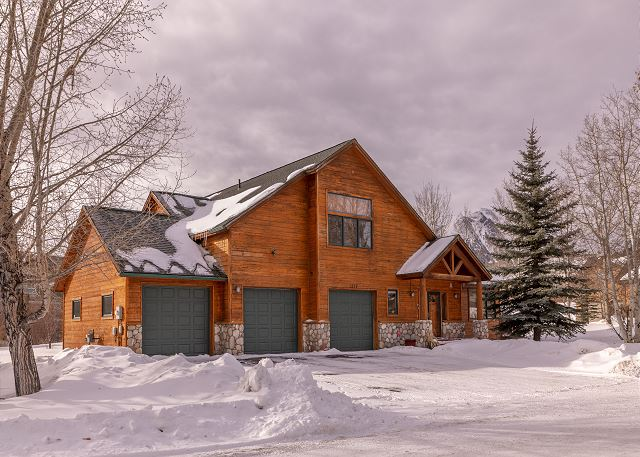 A beautiful stand-alone home in Silverthorne, Colorado.