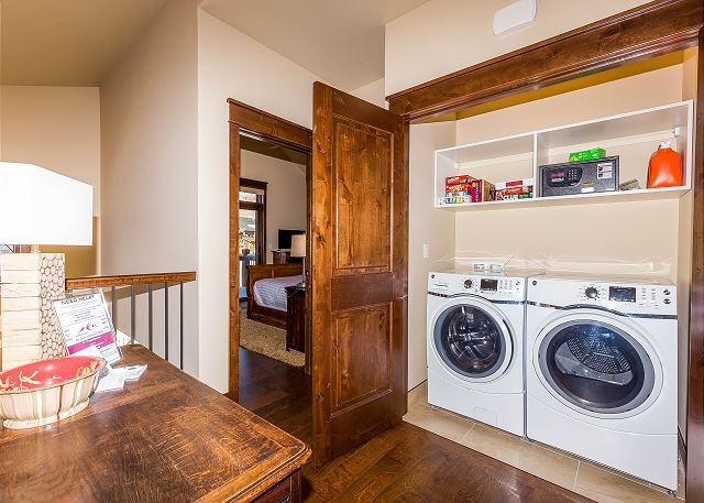 Private Laundry on Main Level