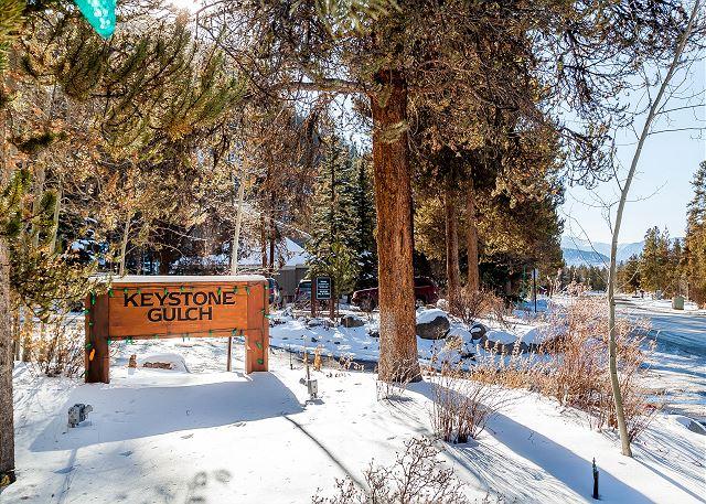 Keystone Gulch in Keystone, Colorado