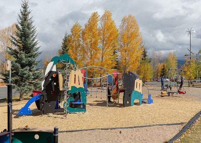 Playground in Frisco, Colorado