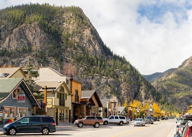 Main Street in Frisco, Colorado
