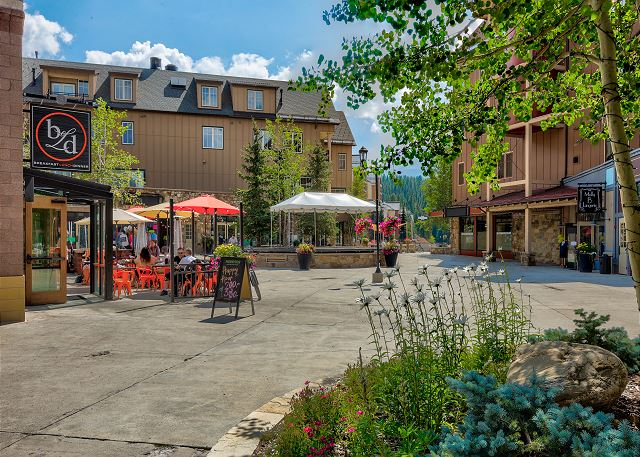 Shopping and Restaurants in Breckenridge, Colorado