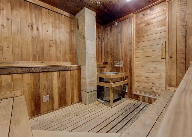 Keystone Lodge and Spa Sauna
