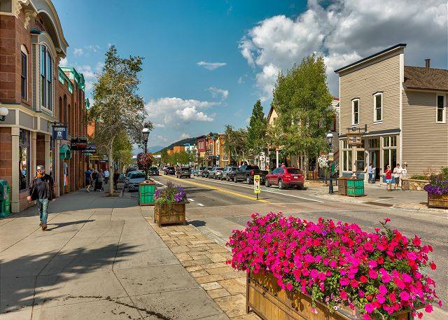 Main Street in Breckenridge, Colorado