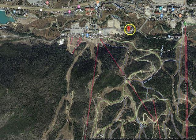 Near the Mountain House Base Area Lifts