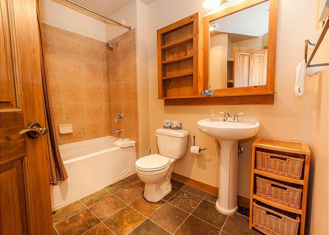 Guest Bathroom Near Bedrooms