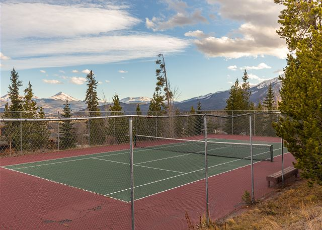 Shared Tennis Courts