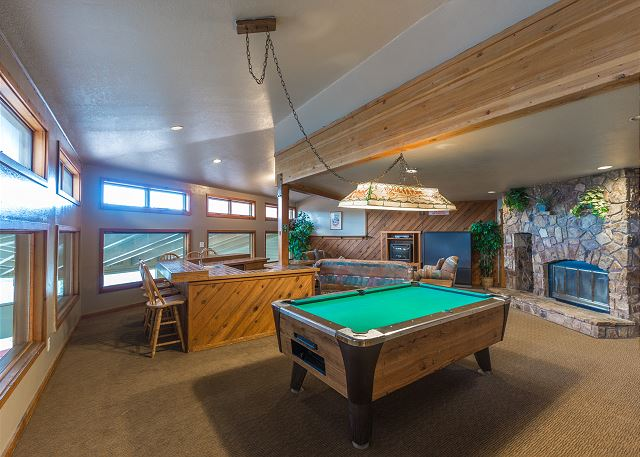 Shared Lounges and Game Rooms