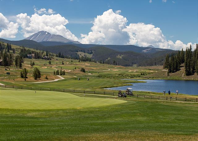 Keystone is home to two championship golf courses.
