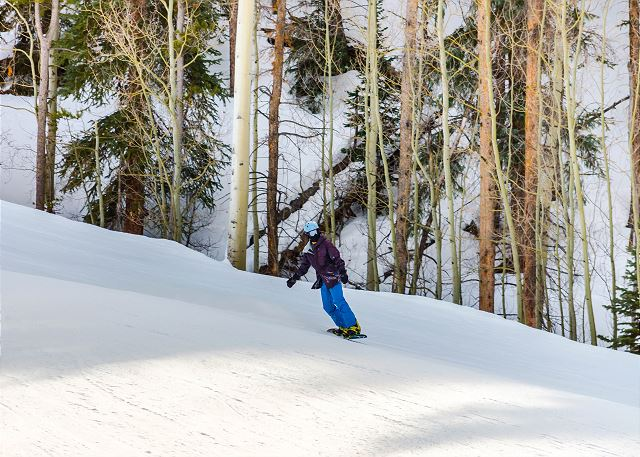 Skiing and snowboarding at River Run, Mountain House, Arapahoe Basin and more.