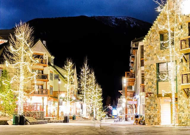 River Run Village in Keystone, Colorado