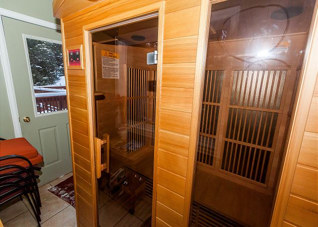 Private Sauna on Main Level