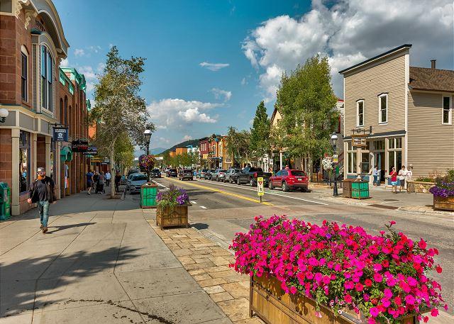Main Street in Breckenridge, Colorado
