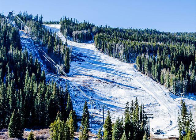 Keystone Mountain slope A