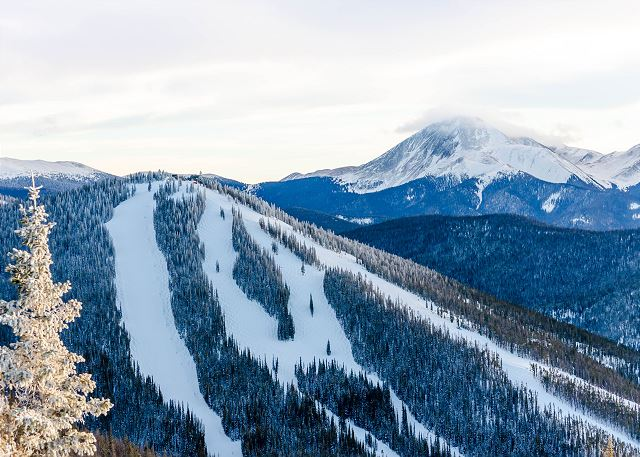 View of Keystone Mountain