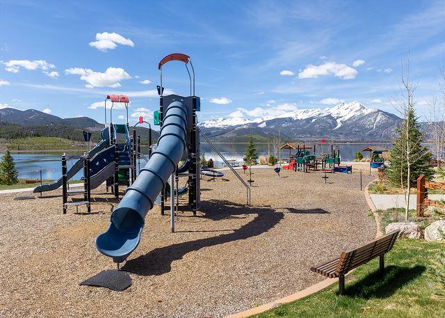 Dillon playground at Dillon Marina