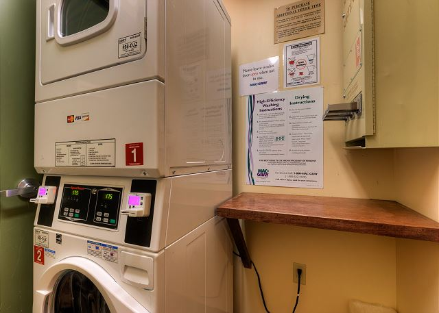 Expedition Station laundry area