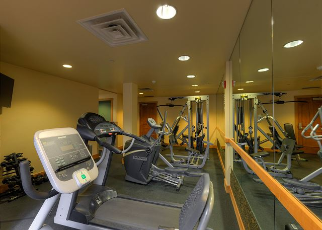 Shared fitness center