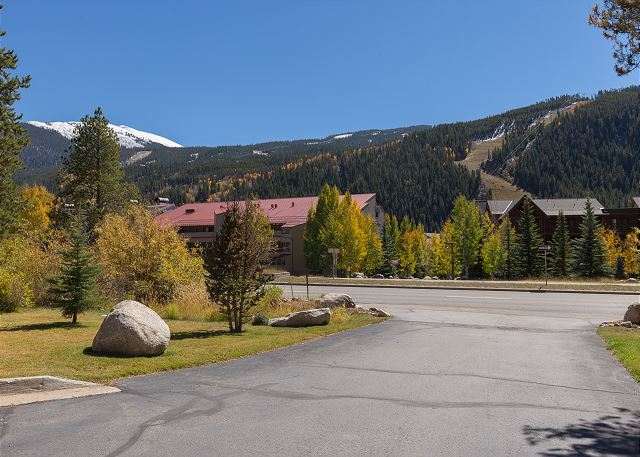 View from Oro Grande Lodge in Keystone