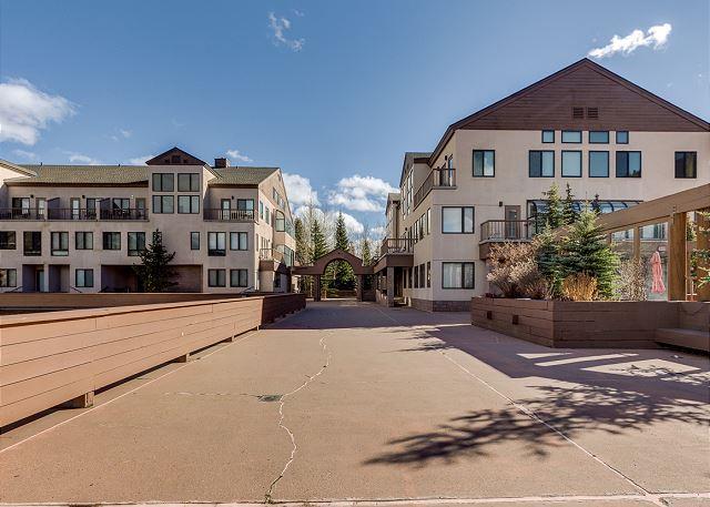 Slopeside Condominiums in Keystone