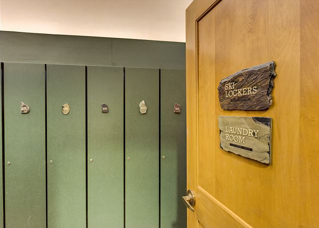 Ski Lockers and Coin-operated Laundry  Facilities