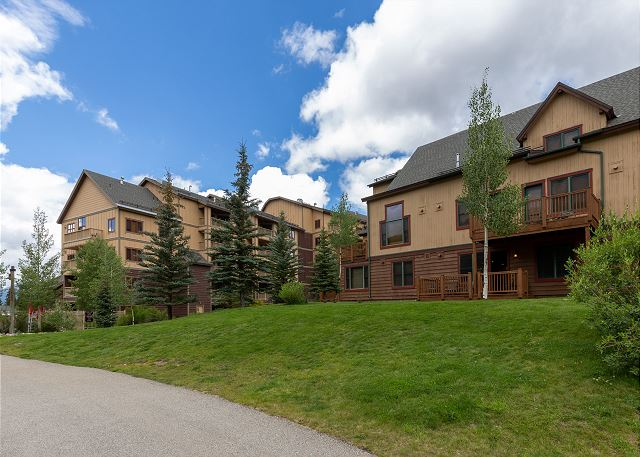 Red Hawk Townhomes in Keystone, Colorado