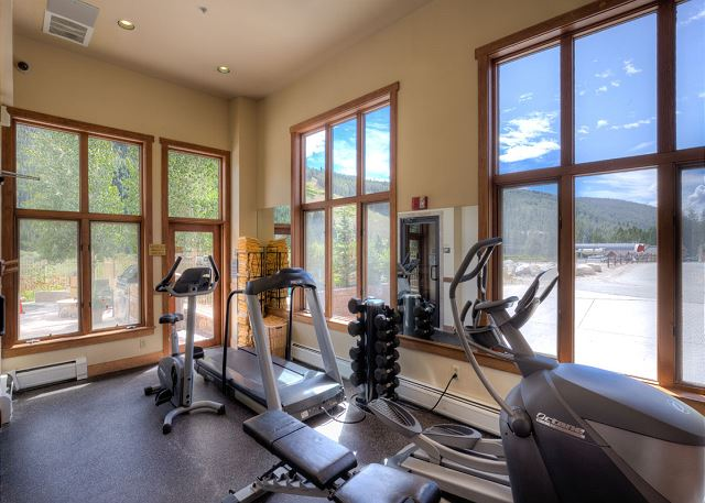 Shared Fitness Facilities at Red Hawk Lodge