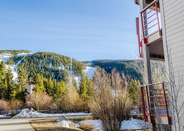 Ski Slope Views from Ski Run