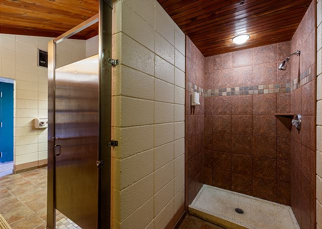 Clubhouse Indoor Shower