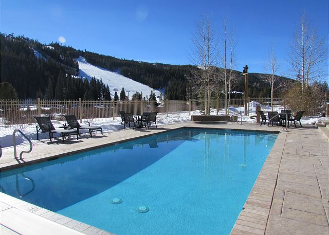 Year-round outdoor heated pool.