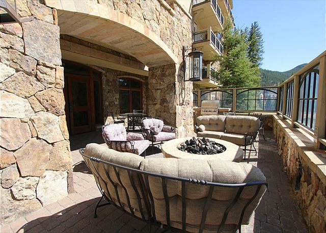 Shared Outdoor Patio with Fire Pit