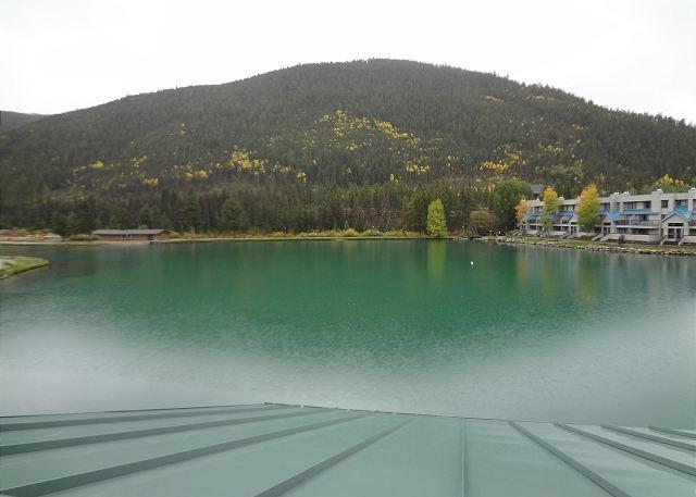 Views of Keystone Lake from the balcony.