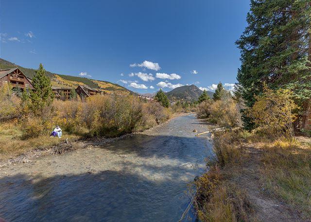 Snake River in Keystone