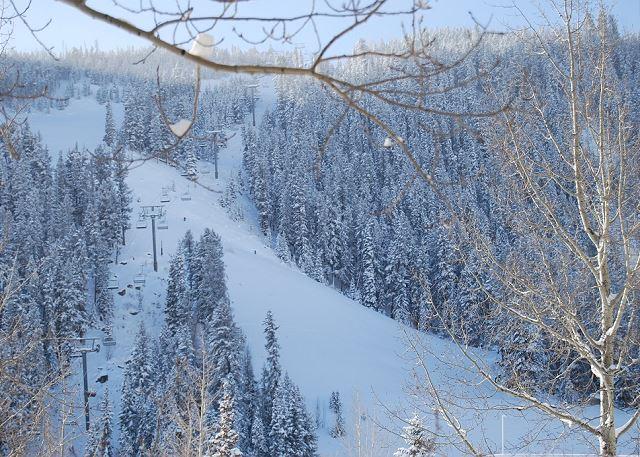 Ski Slope Views from Balcony