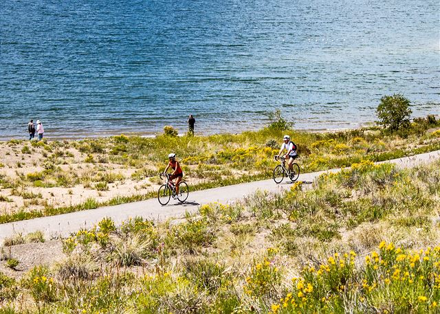 Summit County is home to miles of biking trails that run throughout the entire county.
