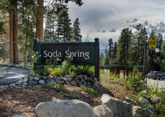 Soda Spring in Keystone